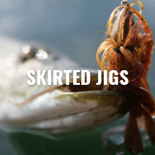 CAMO-Tackle Skirted Jigs