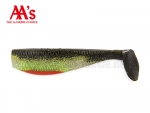 5 AA Worms Bad Bubba Shad (13 cm)