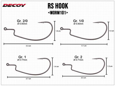 RS Hook Worm101