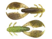 2 Ax Craw Mini - Green Pumpkin / Chartreuse