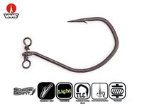 VMC Spinshot Drop Shot Hooks (7119SH)