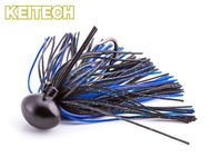 Rubber Jig Model II - Black / Blue