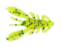 1.5 Ring Craw Micro - Chartreuse Pepper