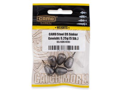 CAMO Steel Drop Shot Sinker