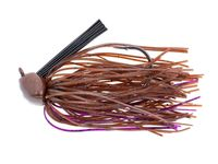 Ikes Head Banger Jig - Brown Purple Passion (21g)