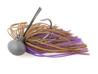 7g Rubber Jig Model II (Version 2) Brown / Purple