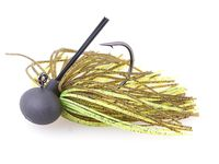7g Rubber Jig Model II (Version 2) Green Pumpkin/Chartreuse