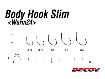 Worm24 Body Hook Slim