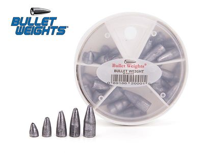 Bullet Weights - lead - 35 pcs.