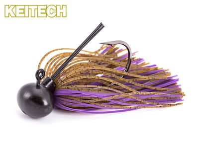 Rubber Jig Model II - Brown / Purple