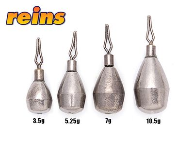 Reins Tungsten DOWN SHOT Sinker