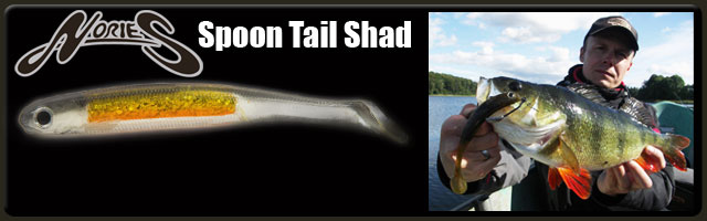 NORIES Spoon Tail Shad