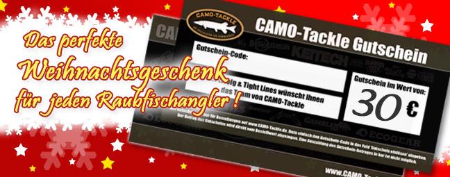 CAMO-Tackle Geschenkgutschein